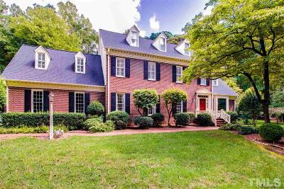 Raleigh Single Family Home Contingent: 8636 Kings Arms Way