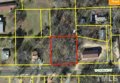Orange County Residential Lots & Land For Sale: 212 W Orange Street