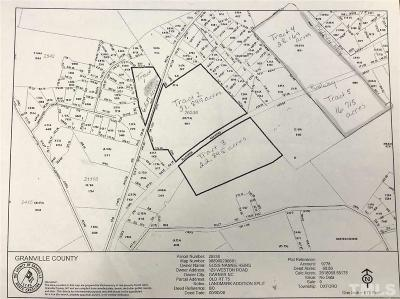 Granville County Residential Lots & Land For Sale: Old Nc 75 Highway