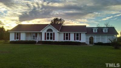 Dunn Single Family Home For Sale: 65 Sunrise Lane