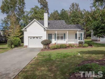 Wake Forest Single Family Home Contingent: 1009 Winter Bloom Court