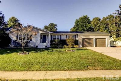 Wake County Single Family Home Contingent: 3005 Old Orchard Road