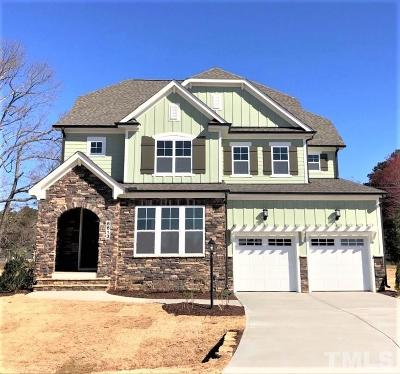 Wake Forest Single Family Home For Sale: 8613 Hugget Lane #03