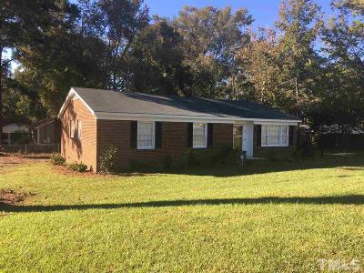 Angier Single Family Home For Sale: 329 Alan Street