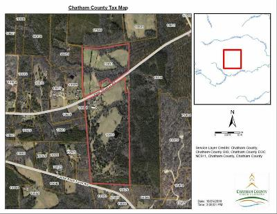 Chatham County Residential Lots & Land For Sale: 1915 Pete Thomas Road