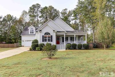 Raleigh Single Family Home Pending: 362 Cattle Farm Drive