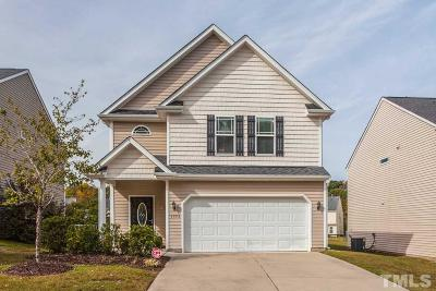 Raleigh Single Family Home Contingent: 3950 Patriot Ridge Court
