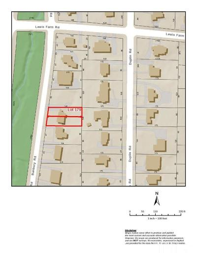 Wake County Residential Lots & Land For Sale: 1422 1/2 Banbury Road