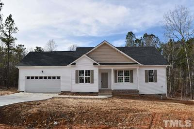 Zebulon Single Family Home For Sale: 81 Nesting Place Trail
