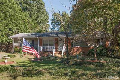 Efland NC Single Family Home Contingent: $160,000