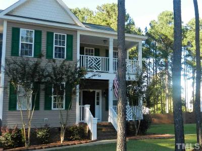 Angier Single Family Home For Sale: 58 W Thicket Drive