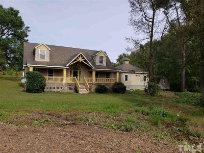Benson Single Family Home For Sale: 530 S Pleasant Coates Road