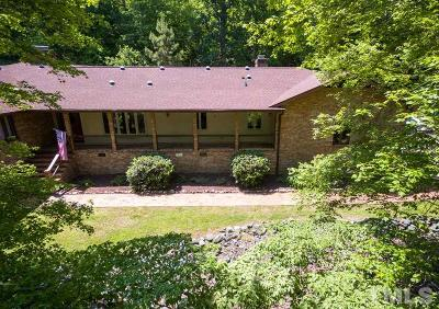 Chapel Hill Single Family Home For Sale: 3518 Travis Court