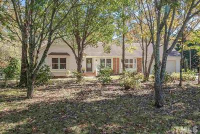 Apex Single Family Home Pending: 100 Lynnhaven Drive