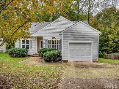 Wake Forest Single Family Home Pending: 725 Wallridge Drive