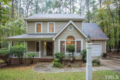 Wake Forest Single Family Home Pending: 7521 Matherly Drive
