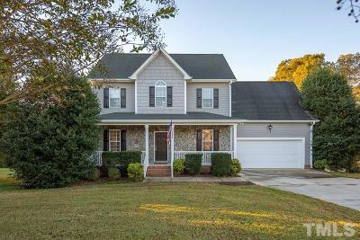Wake Forest Single Family Home For Sale: 3518 Bluebonnet Drive
