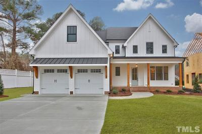 Raleigh Single Family Home For Sale: 3311 Edgemont Drive