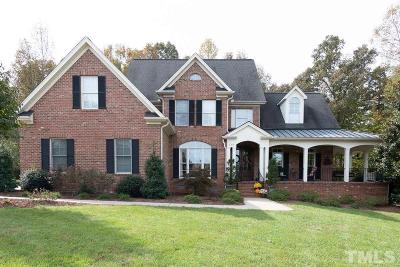Mebane Single Family Home Contingent: 310 Wentworth Circle