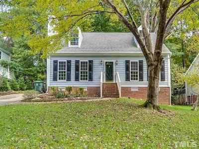 Cary Single Family Home Pending: 111 Rock Pointe Lane