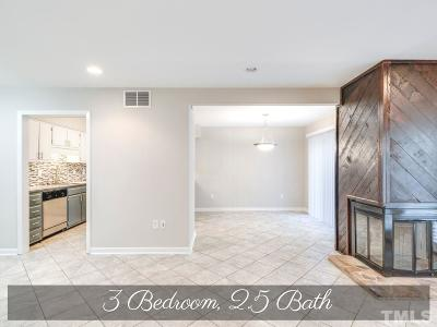Raleigh Condo Contingent: 4604 Millstone Drive #D