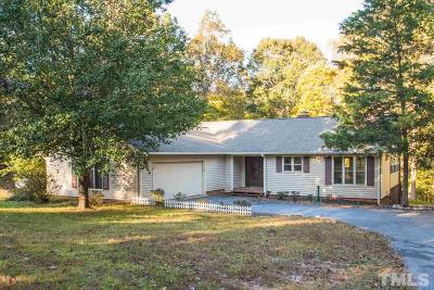 Wake Forest Single Family Home Contingent: 5616 Purnell Road