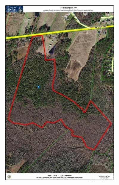Johnston County Residential Lots & Land For Sale: 17137 Nc 210 Highway