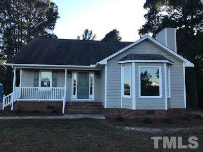 Dunn NC Single Family Home For Sale: $156,500