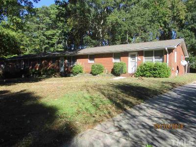 Raleigh Multi Family Home For Sale: 4308 Batts Road