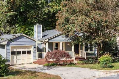 Cary Single Family Home Contingent: 134 Oak Hill Loop