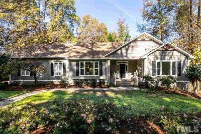 Raleigh Single Family Home For Sale: 2109 Prescott Place
