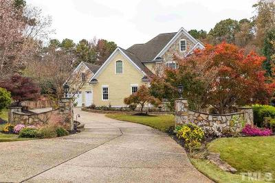 Wake Forest Single Family Home For Sale: 1905 Pleasant Forest Way