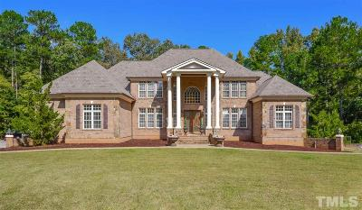Durham Single Family Home For Sale: 8133 Wake Road