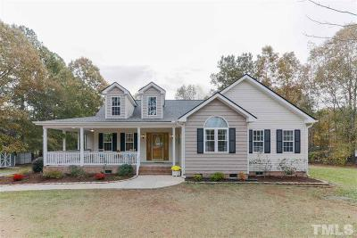 Zebulon Single Family Home Pending: 15 Sylvan Way