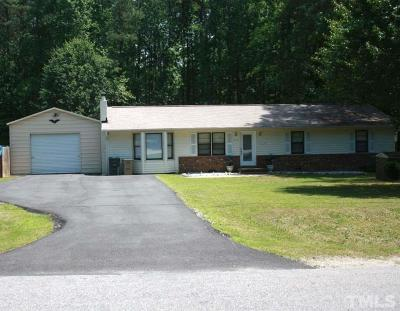 Garner NC Single Family Home Pending: $190,000
