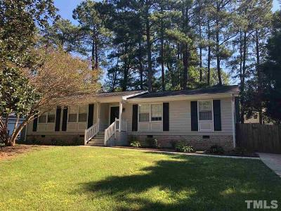 Cary Rental For Rent: 1219 Shincliffe Court