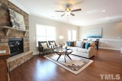 Fuquay Varina Townhouse For Sale: 560 Barneswyck Drive