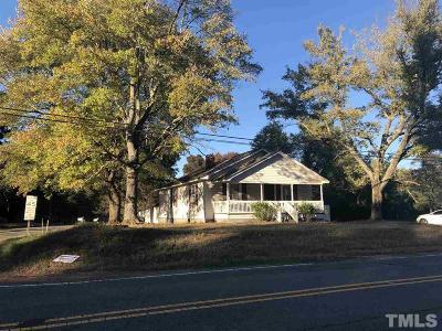 Durham Single Family Home For Sale: 2021 Doc Nichols Road