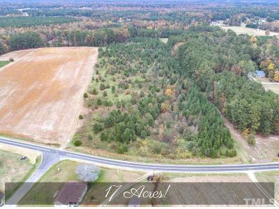 Franklin County Residential Lots & Land Contingent: 0B Clyde Pearce Road