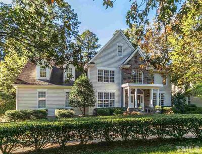 Cary Single Family Home Contingent: 403 Versailles Drive