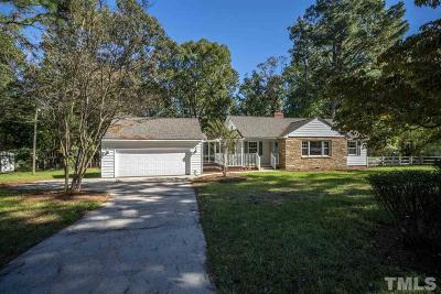 Fuquay Varina Single Family Home For Sale: 6435 Johnson Pond Road