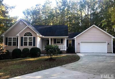 Creedmoor Single Family Home For Sale: 3152 Pier Pointe Drive