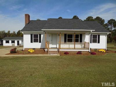 Benson Single Family Home Pending: 1205 Silas Moore Road