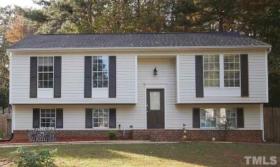 Raleigh NC Single Family Home Contingent: $255,000