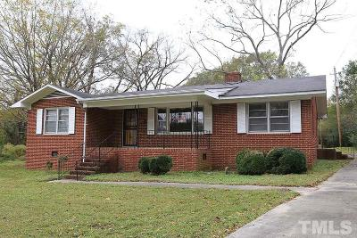 Louisburg Single Family Home For Sale: 201 N Elm Street