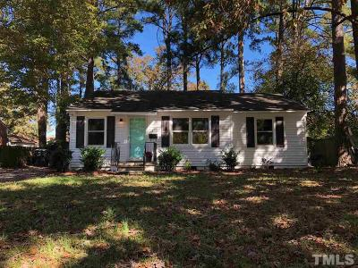 Wake County Single Family Home For Sale: 2433 Stevens Road