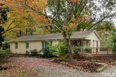 Carrboro Single Family Home For Sale: 1303 W Main Street