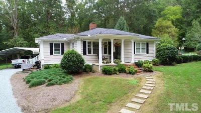 Durham County Single Family Home For Sale: 2214 Umstead Road