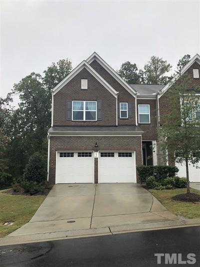 Cary Townhouse For Sale: 216 Kylemore Circle