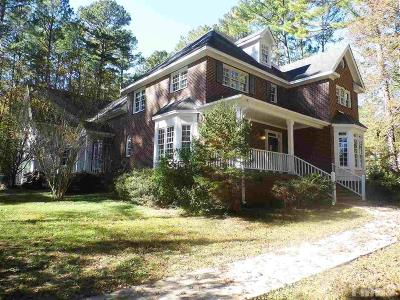 Wake Forest Single Family Home For Sale: 2512 Canonbie Lane